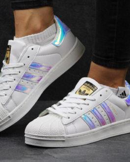 Жіночі кросівки Adidas Superstar білі ... bf054664bb0c5
