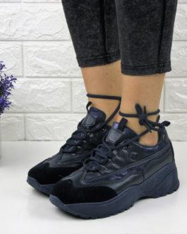 Жіночі стильні кросівки Ella темно сині Жіночі стильні кросівки Ella темно  сині 8b44bf22b266d