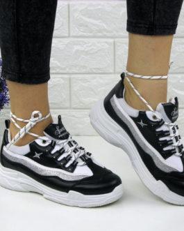 Жіночі стильні кросівки Kelly чорні ... ba327381f20fa