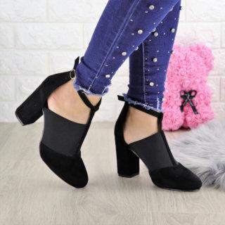 Туфлі жіночі Querida чорні