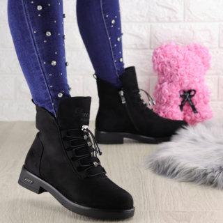 Жіночі зимові черевики Paddie чорні