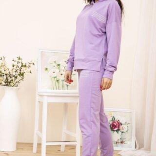 Спортивний костюм жіночий колір Лавандовий