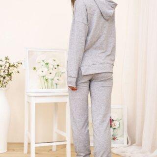 Спортивний костюм жіночий колір Світло-сірий