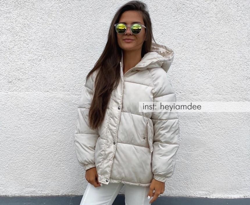 Укорочена зимова куртка