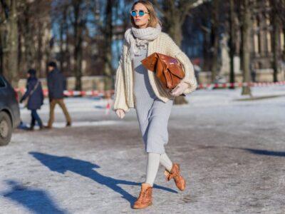 5 теплих зимових суконь, що поєднують стиль та тепло